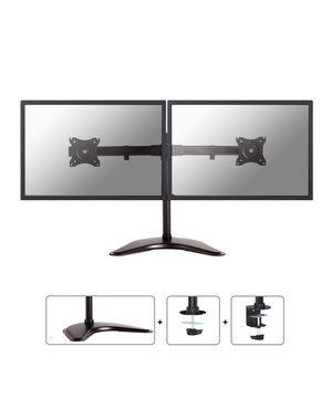 Neomounts NM-D335DBLACK voor 2 Monitoren