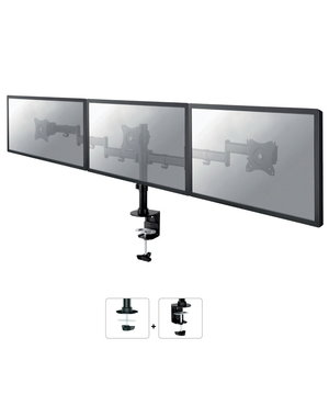 Neomounts NM-D135D3BLACK Triple Monitor Beugel