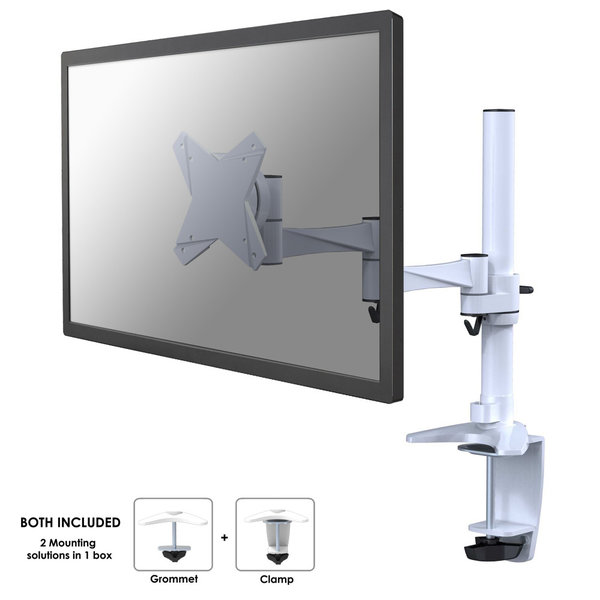 Neomounts by NewStar FPMA-D1330WHITE Monitorbeugel - 2e Kans