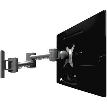 Dataflex Viewmate monitorarm Zilver - wand 042