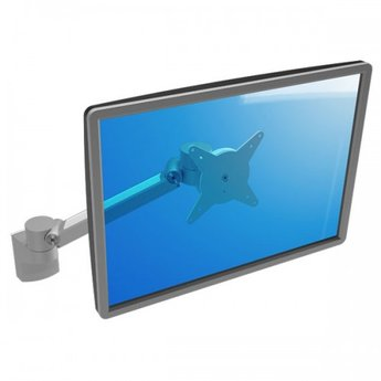 Dataflex Viewlite plus monitorarm Zilver - wand 312