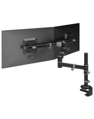Dataflex Viewgo Dubbele Monitorarm Zwart - bureau 133