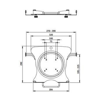 Dataflex Viewmaster notebookhouder - optie 072