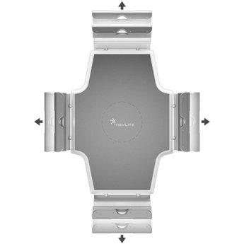 Dataflex Viewlite universele tablethouder Wit - optie 050