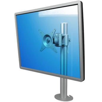 Dataflex Viewmate monitorarm Zilver - bureau 652