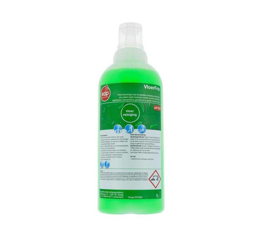 VloerFris Vloerreiniger (fles à 1 liter met doseerdop)