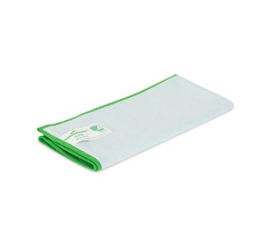 3 Stück Greenspeed Glas Mikrofasertuch