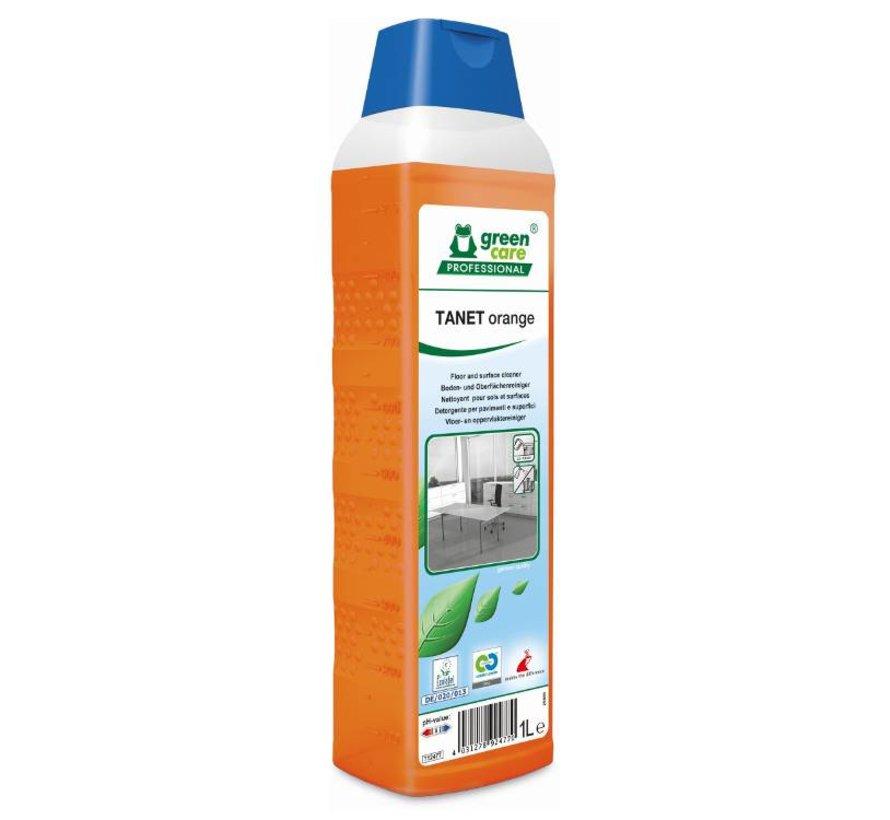 Tanet Orange | Interieur en vloerreiniger (fles à 1 liter)