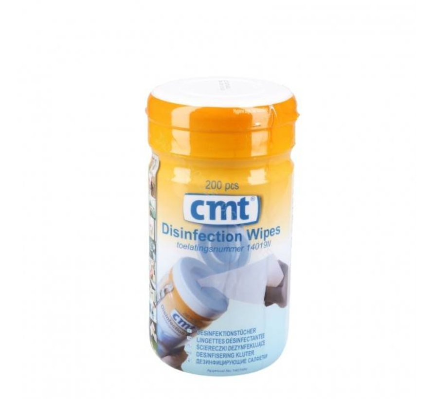 CMT Disinfection Wipes Alcoholdoekjes 14 x 14 cm