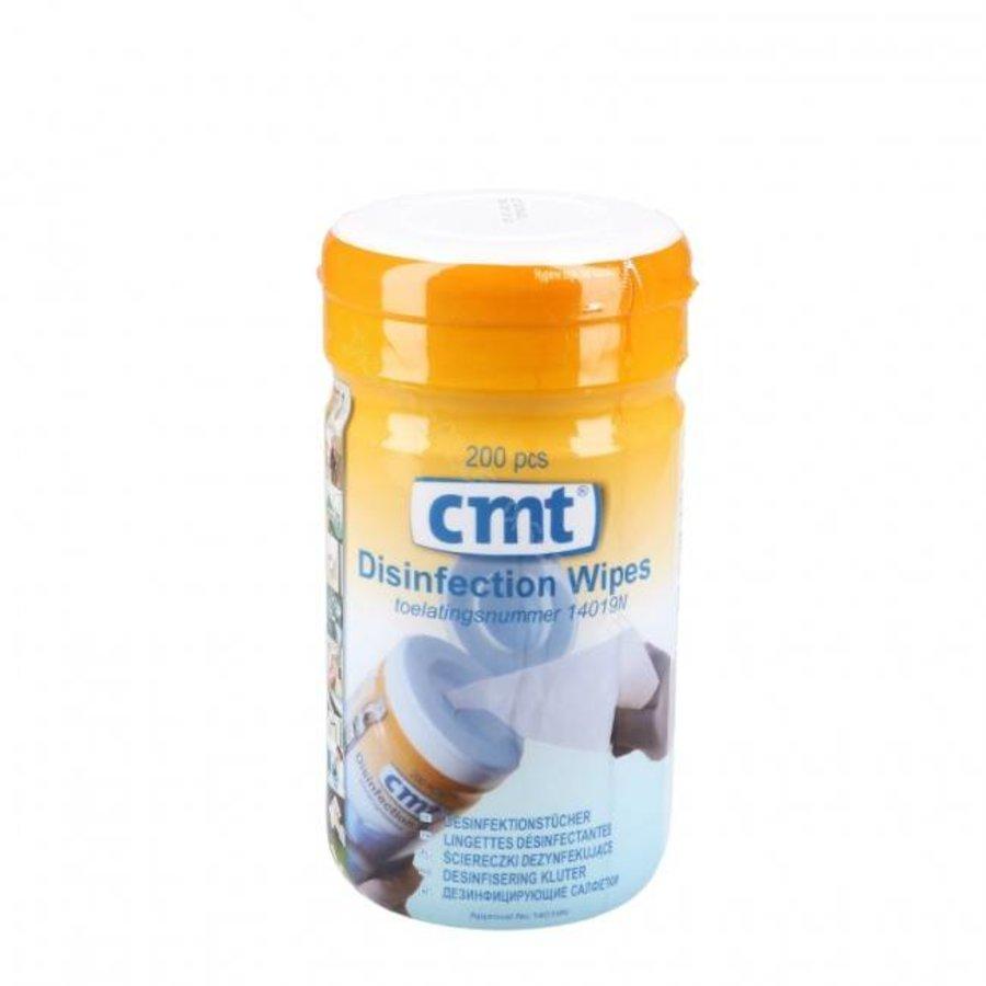 CMT Disinfection Wipes Alcoholdoekjes 14 x 14 cm