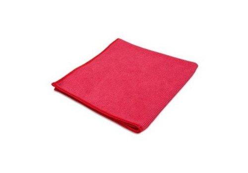 ThuisSchoonmaken Stretch Profi Microfasertüch - Rot