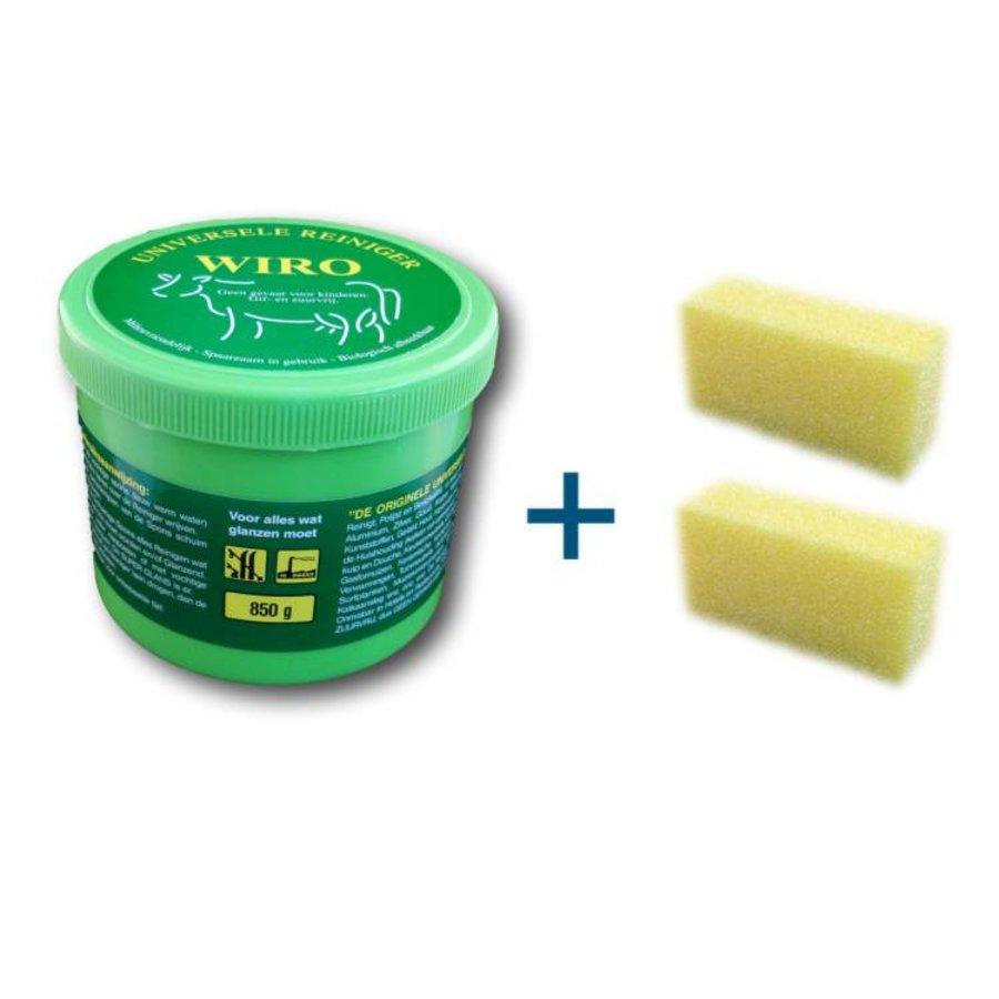 Universele Reinigingssteen 850 gram (inclusief 2x spons)