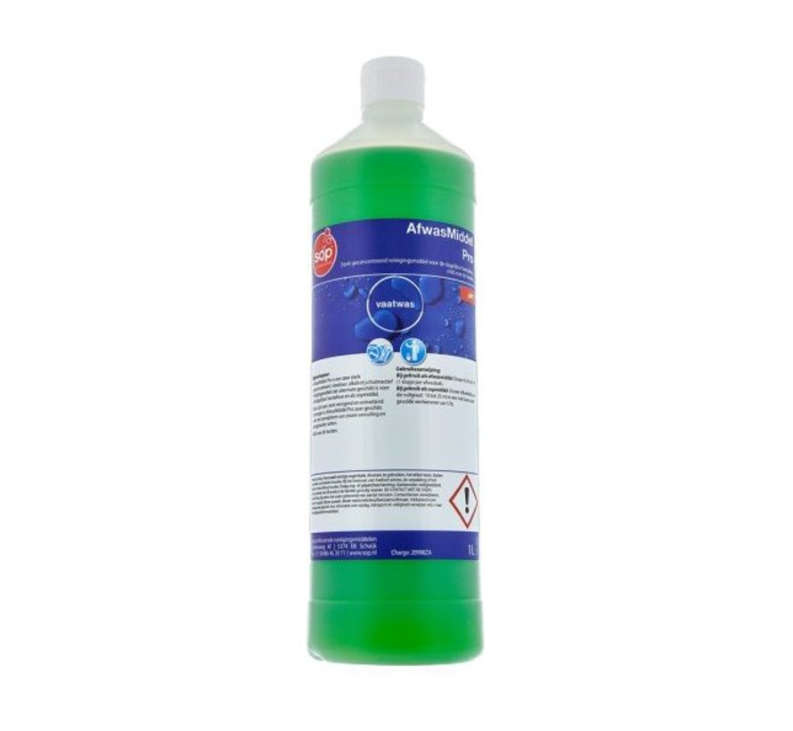 Afwasmiddel Pro (fles à 1 liter)