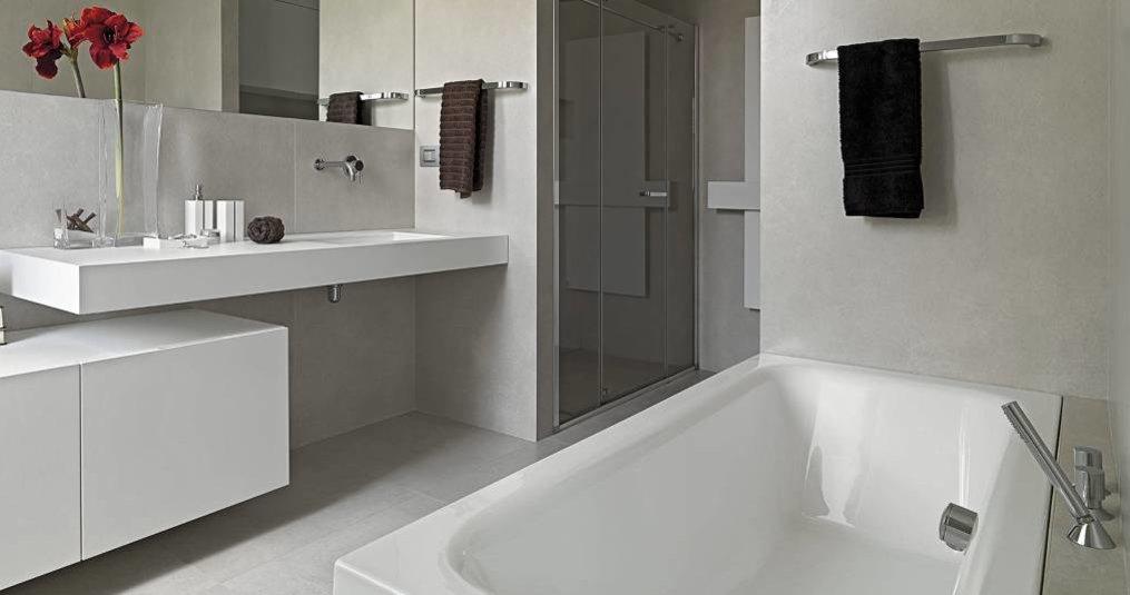 Badkamer grondig en snel schoonmaken