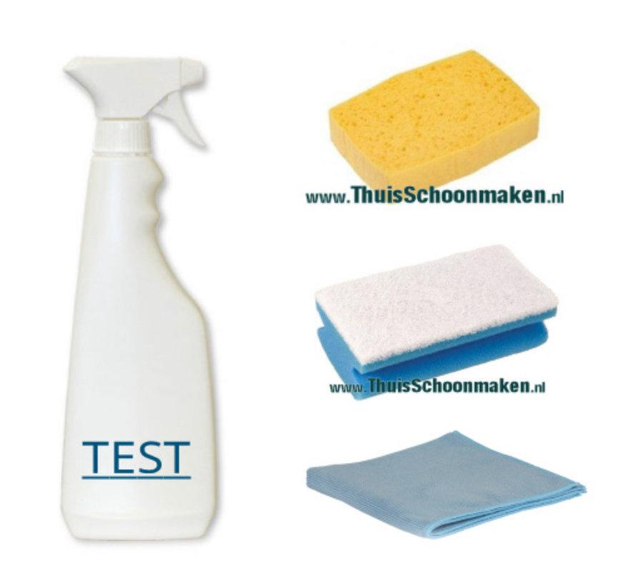 Test Reinigingsset voor grondige vloerreiniging