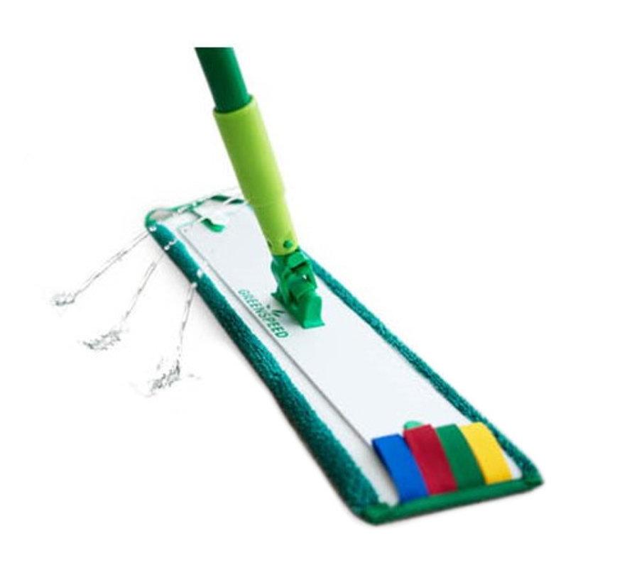 Set Vloeren Dweilen (set met twee moppen)