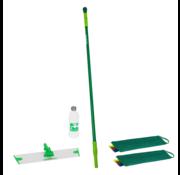 Greenspeed Sprenklersteel + Vloerplaat en tweemaal TwistMop