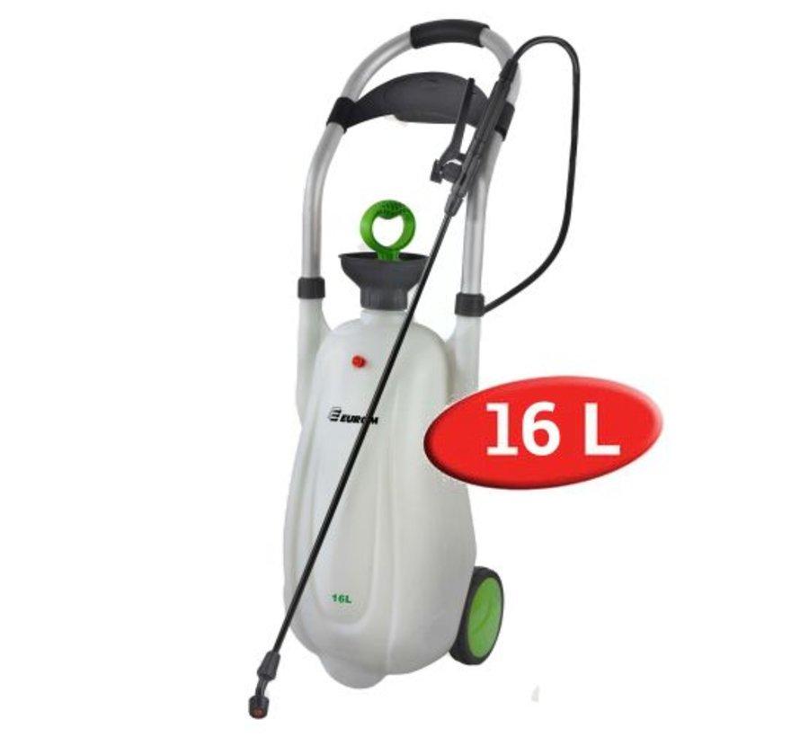 Trolleysprüher - Drucksprüher auf Rädern - 16 ltr