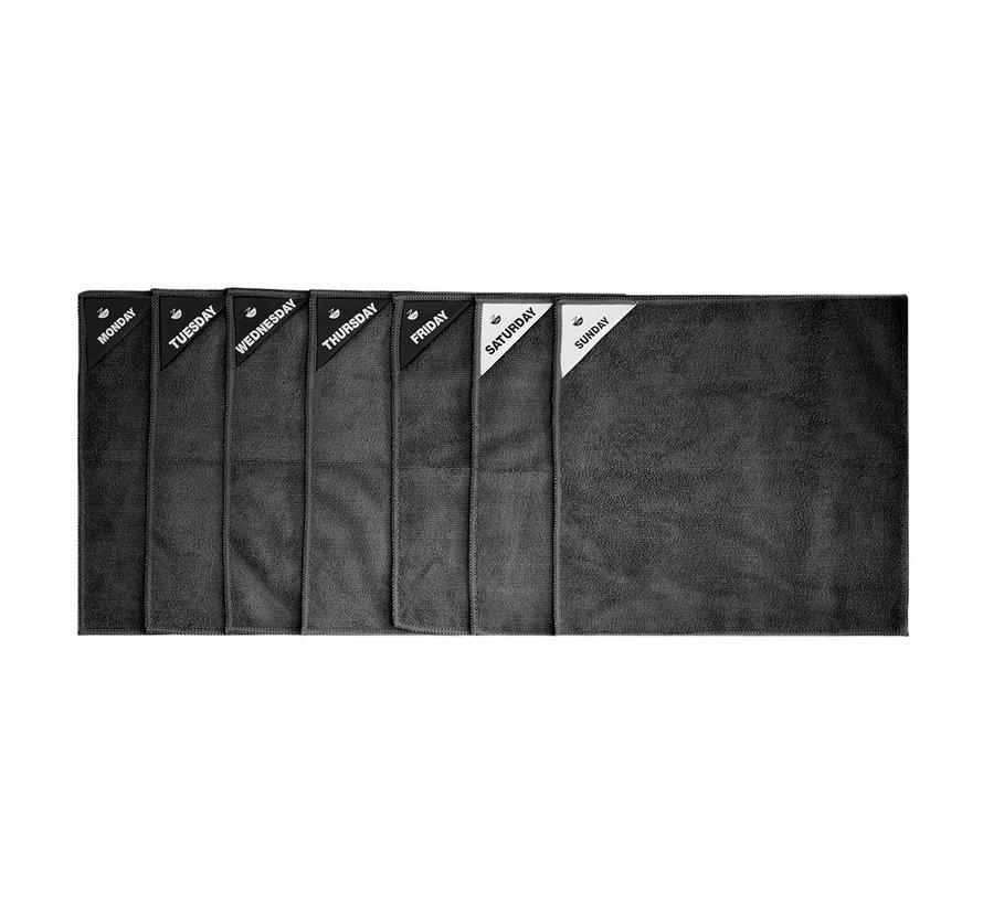 Mikrofaser-(Geschirr-)Tücher - 7er Set