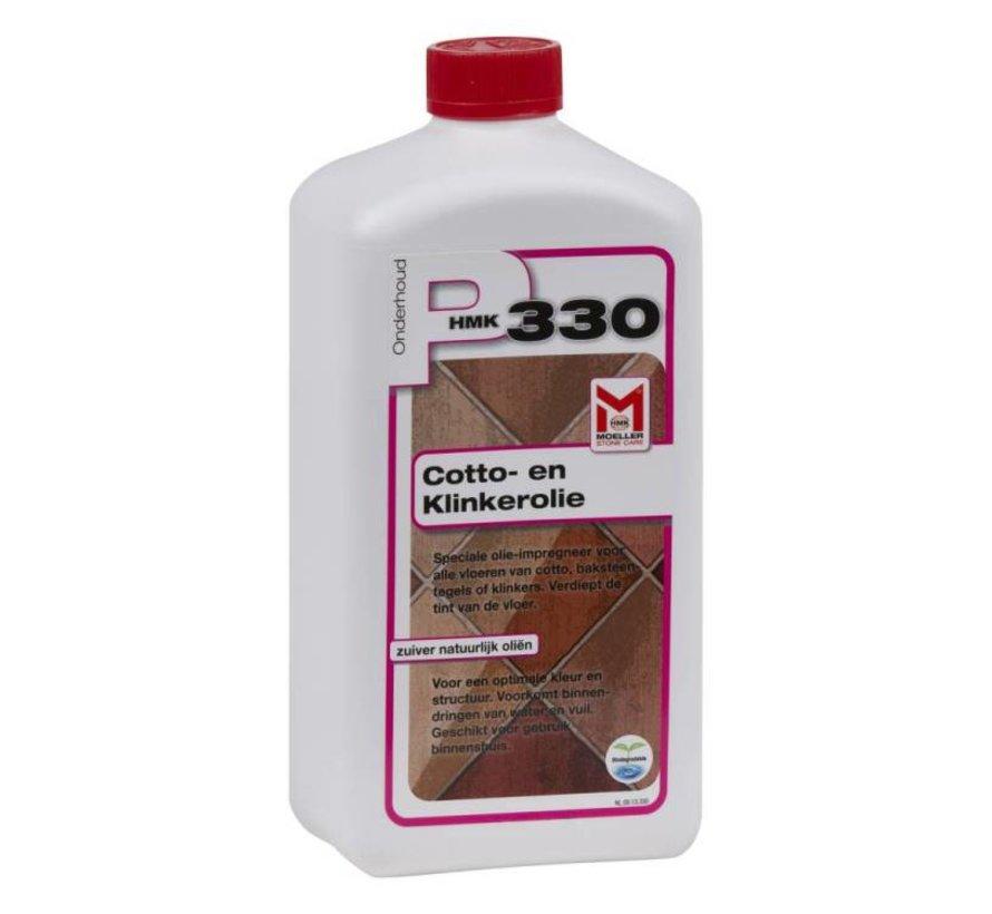 P330 Cotto- en Klinkerolie (fles à 1 liter)