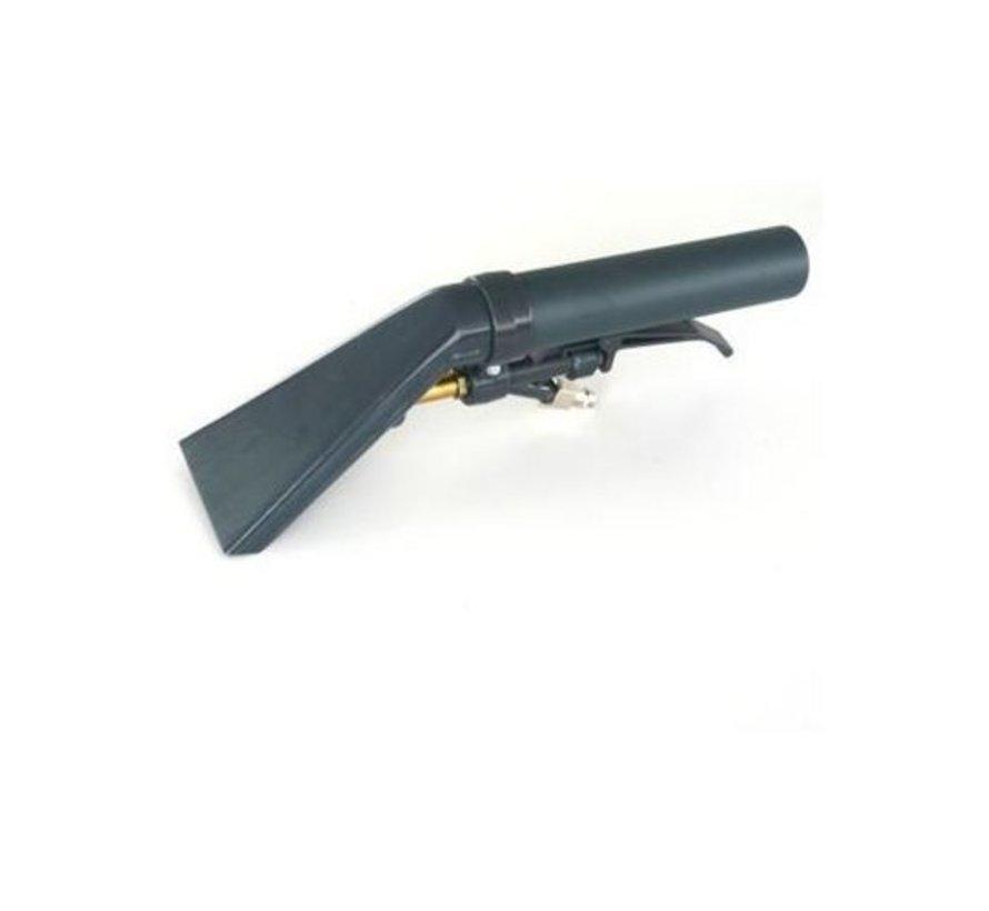 Polsteradapter, 9 cm, Alu, mit aussenliegender Düse