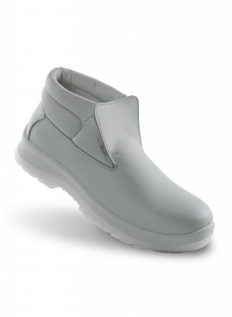 Witte Werkschoenen.Verona Wit 86204