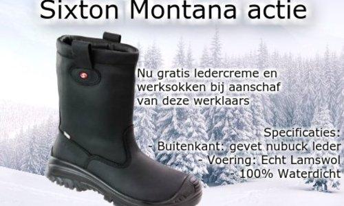 Sixton Montana actie