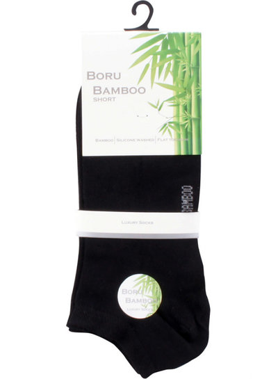 Korte Sokken van duurzaam Bamboe, geleverd per 6 paar