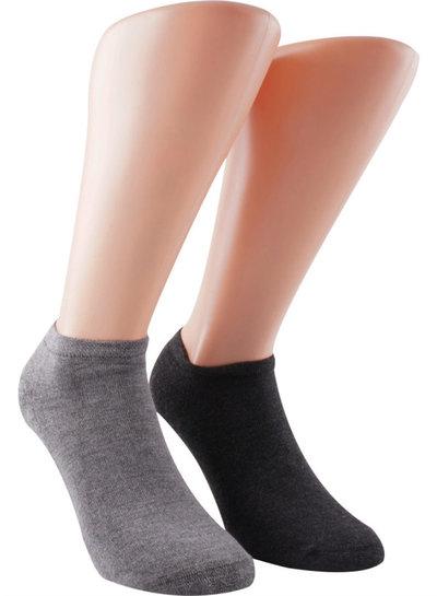 Korte Sokken van duurzaam Bamboe, geleverd per 2 paar