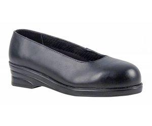 Werkschoenen Met Stalen Neus.Portwest Fw49 Dames Nette Werkschoenen Met Stalen Neus