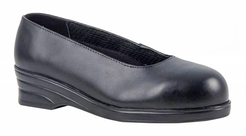 Werkschoenen Met Stalen Tip.Portwest Fw49 Dames Nette Werkschoenen Met Stalen Neus