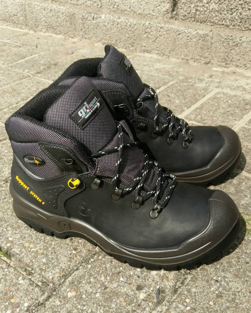 Grisport Werkschoenen S3.Grisport 803 Hoge Werkschoenen Zwart Geen Verzendkosten