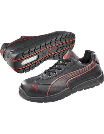 Puma Daytona Low S3 zwart/rood