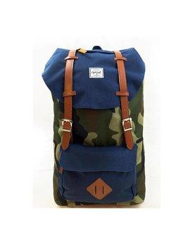 Lightpak Lightpak rugzak THE PASSENGER  camouflage/blauw