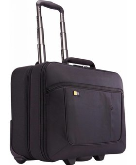 "Case Logic Case Logic 17.3"" Laptoptrolley Zwart"