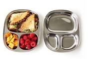 Eco lunchbox dienblad RVS kind