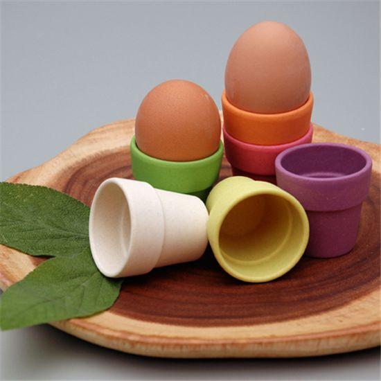 Zuperzozial eierdopjes in 6 kleuren