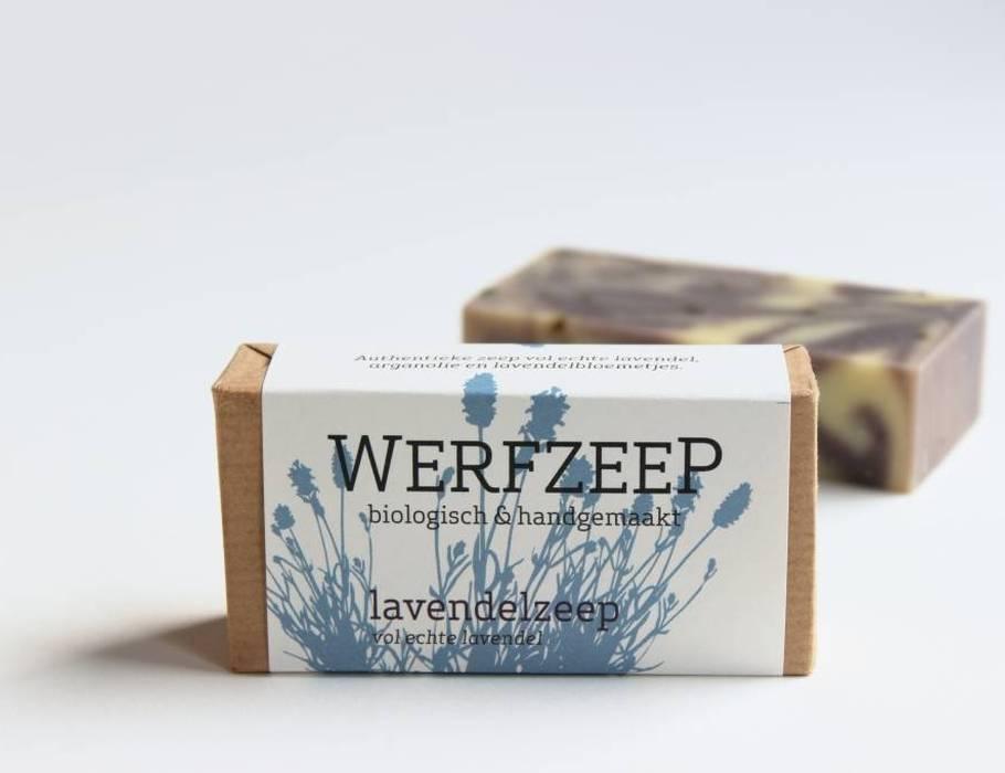 Werfzeep lavendelzeep - natuurlijke zeep