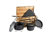 Bon-Fire kookkist gietijzeren pannenset