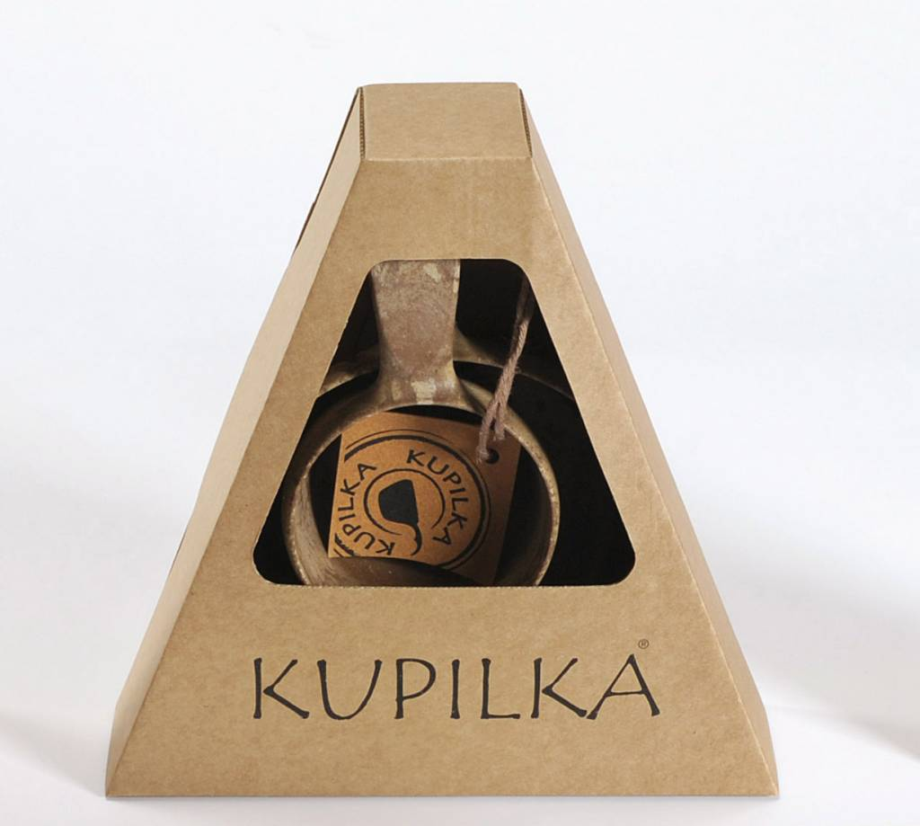 Kupilka campingservies  bruin mok en kom in verpakking