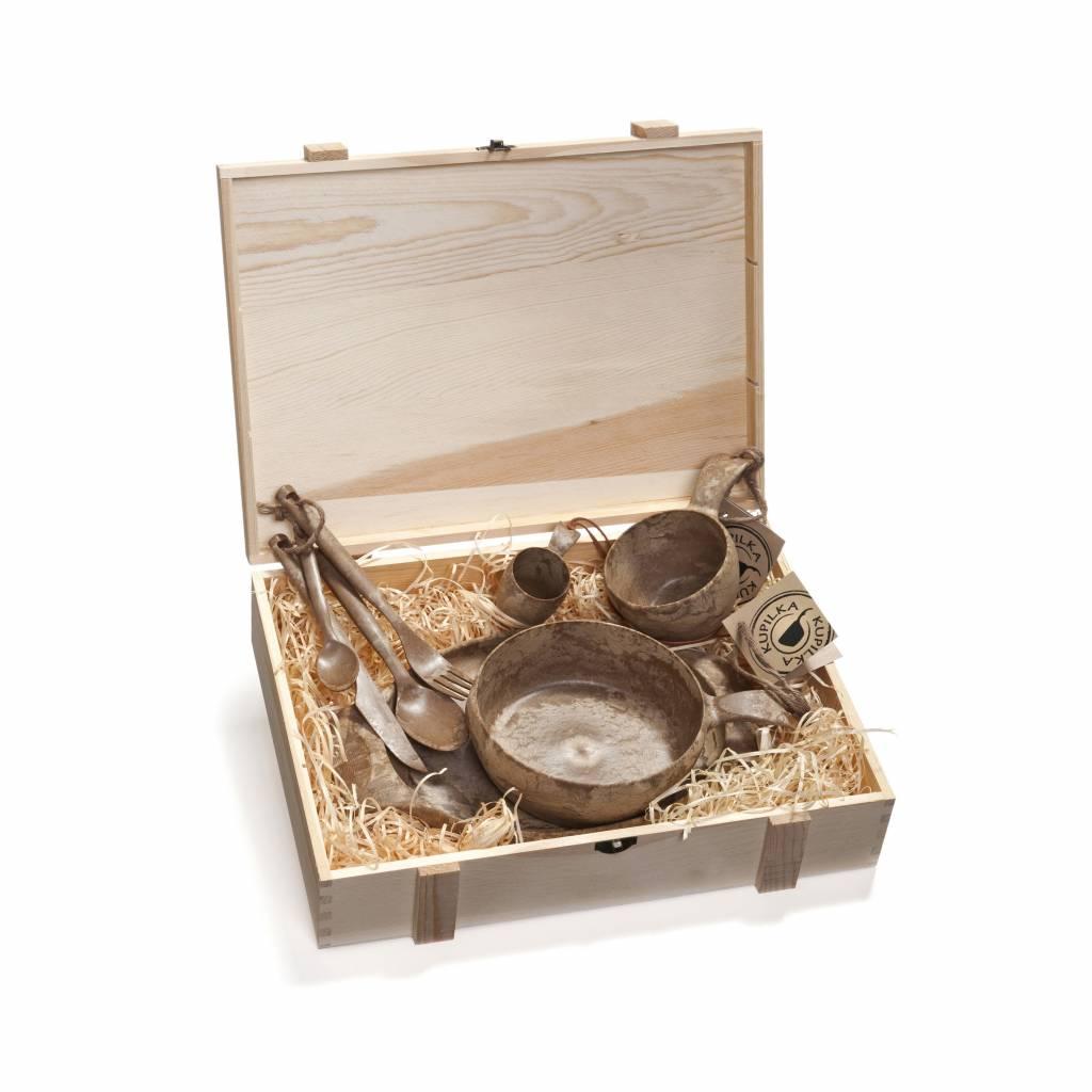 Kupilka geschenkset in houten box 5-delig