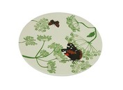 Zuperzozial bamboe servies-botanisch bord klein