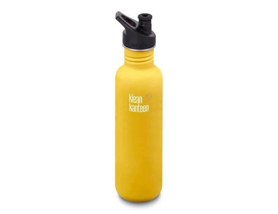 Klean Kanteen drinkfles Classic Sport 800 ml in 9 kleuren