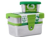Eco lunchbox lunchbox lekvrij Splash 3 in 1