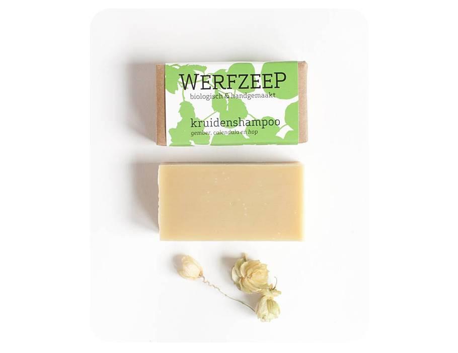 Werfzeep kruidenshampoo - natuurlijke zeep