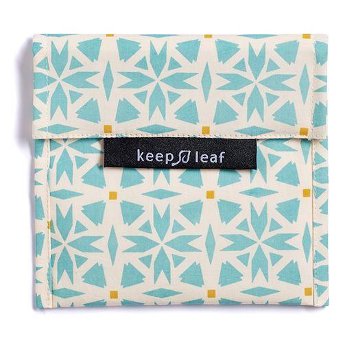 Keep Leaf herbruikbare boterhamzakjes Baggie L Geo