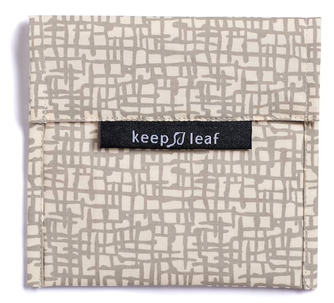 Keep Leaf herbruikbare boterhamzakjes Baggie L Mesh