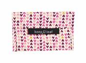 Keep Leaf herbruikbare boterhamzakjes Baggie M Hearts