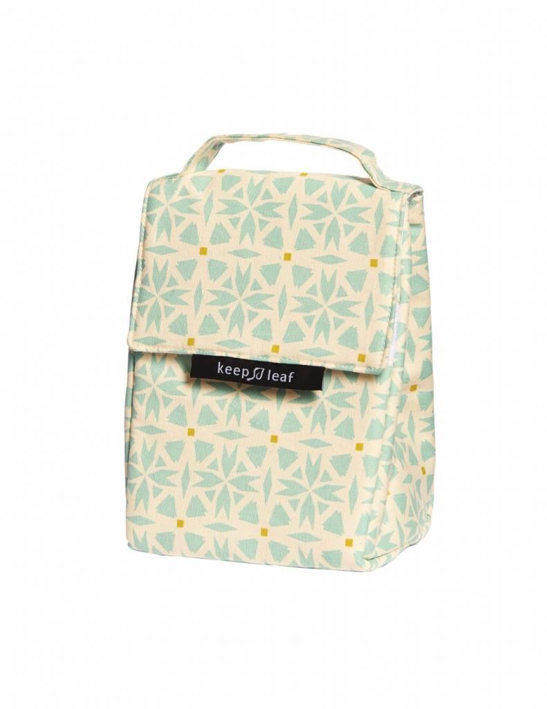 Keep Leaf lunchbag Geo