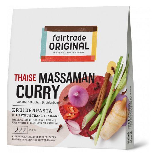 Fairtrade original Thaise Massaman Currypasta